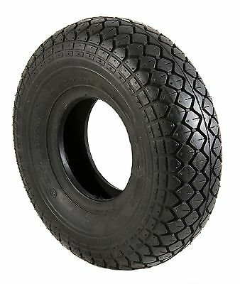 New Mobility Scooter Tyre  400-5 , 330x10  Black  Diamond Block Tread  vat free