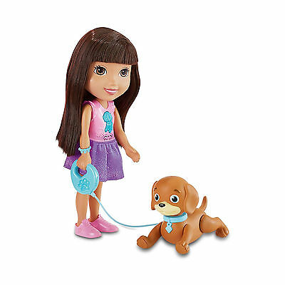 Dora And Friends Train And Play Dora And Perrito Puppy 40+ Phrases Toy Age 3+