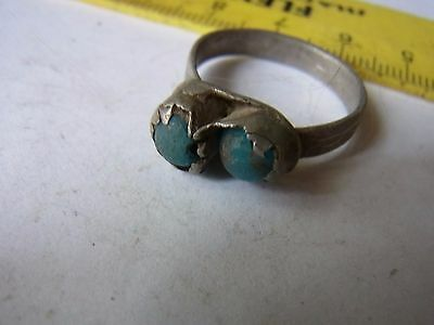 Ancient Silver Ring With Stone !!!