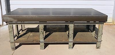 The Challenge Machinery Cast Iron Layout Table, 48 X 96 X 6