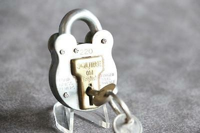 Old English Squire 220 padlock with 2 keys