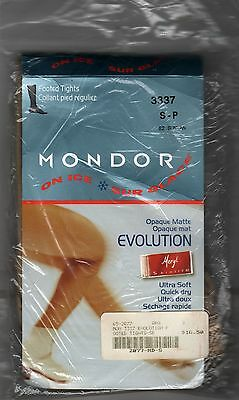Mondor Footed Skating Tights S Adult Small 3337 Suntan 82 Ice Figure New in Pkg