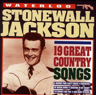 Stonewall Jackson - Waterloo 19 Gr. Country Songs [CD New]