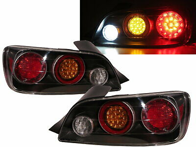 S2000 Second generation 04-09 Convertible 2D LED Tail Rear Light Black for HONDA
