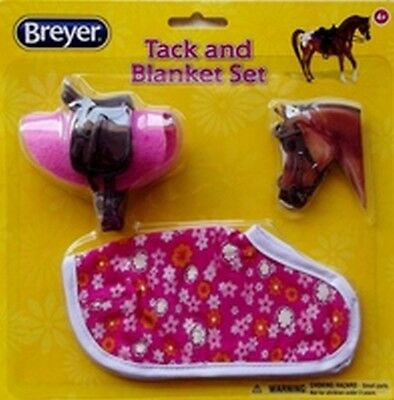Breyer Classics Tack and Blanket Set Pink Flowers