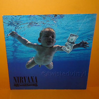 "1991 Geffen Sub Pop Records Nirvana - Nevermind 12"" Lp Album Vinyl Record Rare"