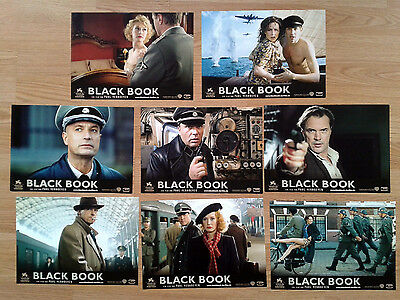 Paul Verhoeven BLACK BOOK 2008 - rare German Lobby Card Set  Carice van Houten