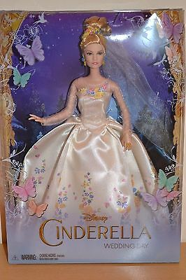 2015 Disney CINDERELLA Wedding Day Doll - NEW
