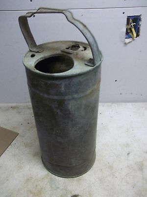 Rough Old Copper Water Extinguisher Tank for Flower Pot Garden Planter