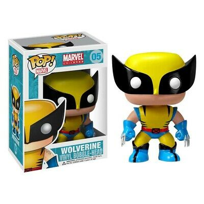 Funko Pop Wolverine Bobble Head Yellow