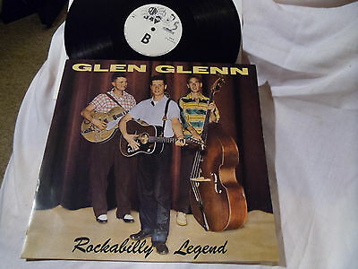 "Glen Glenn - ""rockabilly Legend"". 1987 Sunjay Lp"