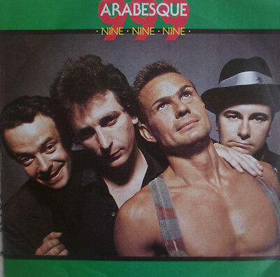 "7"" 1984 RARE SKA EP IN VG++ ! 999 : Arabesque"