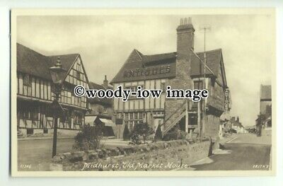 tp9734 - Sussex - The Old Market House as Antique Shop, in Midhurst - Postcard