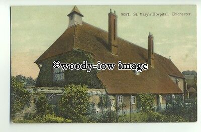 tp9743 - Sussex - The St. Mary's Cottage Hospital, in Chichester - Postcard