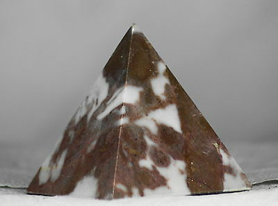 Polished Marble Egyptian Pyramid, a Lovely, Natural Ornament or Spiritual Gift