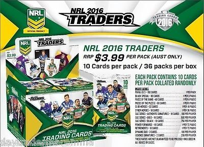 Christmas Special 2016 NRL ESP Traders factory sealed box,Album,3D card + pages