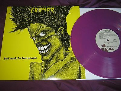 The Cramps – Bad Music For Bad People RARE PURPLE VINYL re LP ~ MINT!