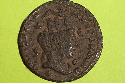 HUGE Ancient ROMAN COIN ram city goddess PHILIP II 247-249 AD tyche old antique • CAD $478.16
