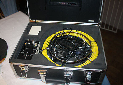 Video Snake 3188D Borescope 65 Foot Inspection System With LED Camera Hard Case