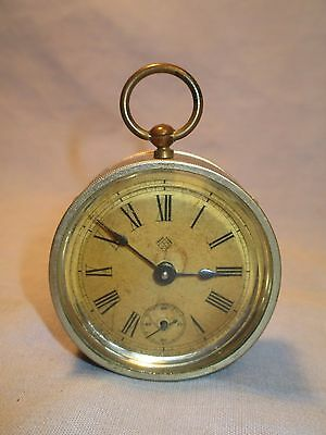 "Antique Ansonia Drone Clock w/ 2"" Face /    DB 32"