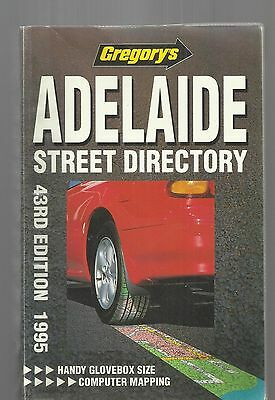GREGORY'S ADELAIDE  STREET DIRECTORY - 43rd EDITION 1995