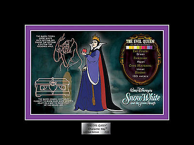DISNEY Evil Queen Matted CHARACTER Jumbo KEY PIN VARIANT LE 250 NEW #135 ACME