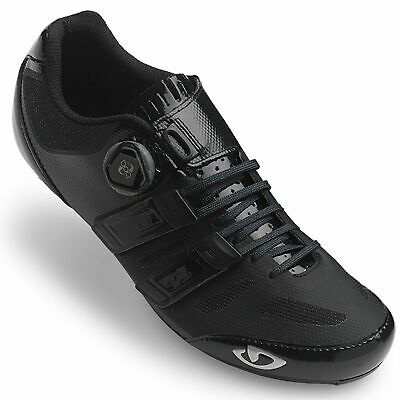 Giro Sentrie Techlace Microfibre Road Cycling / Bike / Bicycle Shoes In Black