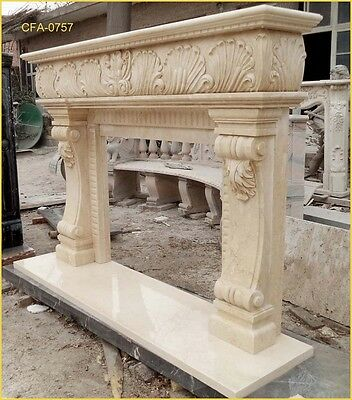 FromFactoryToU! Customize own marble fireplace mantel surround @PLS ASK PRICE@