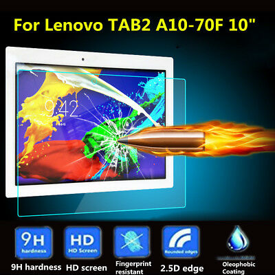 """AU 9H Tempered Glass Screen Protector For Lenovo Tab2 A10-30 /A10-70F 10"""" Tablet"""