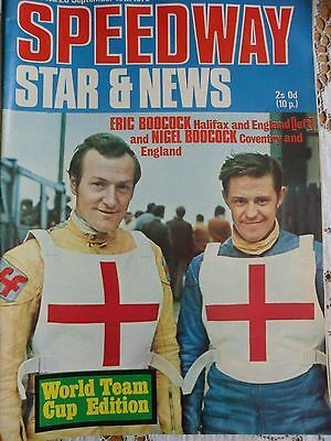 Speedway Star and News 18th September 1970