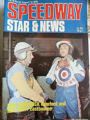 Speedway Star and News 7th August 1970