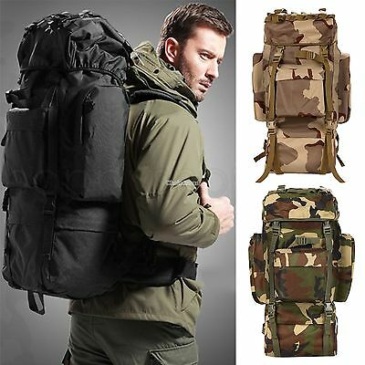For Men Molle Military Rucksacks Backpack Tactical Outdoor Hiking Camping bag