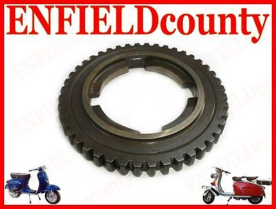 4th GEAR WHEEL 44 COGS P125-150X /GT/GTR/Sprint FOR VESPA SCOOTER @CAD