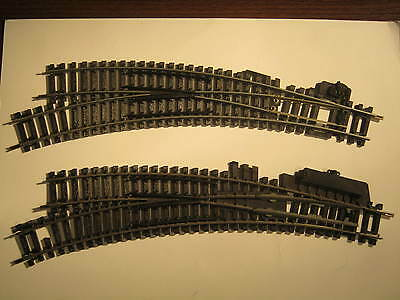 Hornby 'oo' Track (R640  L/H, x 2 )