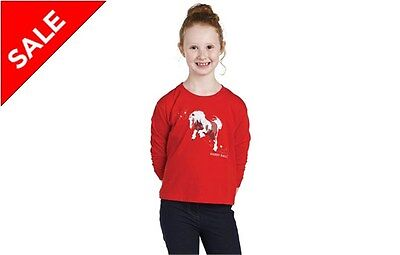 New Junior ** Harry Hall ** Age 5-6 Yrs Childs Coloured Cob T Shirt Riding Top