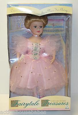 Brass Key - FAIRYTALE TREASURES Porcelain Doll - BALLERINA (1998) #16498 COA NEW