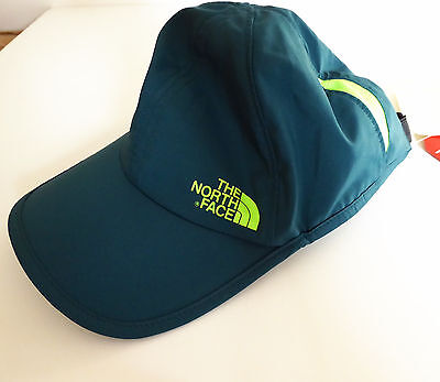The North Face BREAKAWAY HAT Breathable Lightweight Running Cap Depth Green S/M