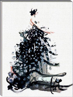 Framed Painting by Number kit Bridal Veil Wedding Dress Skirt Lady Woman HT7019