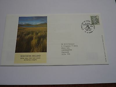 4 x Regional Definitive Issue 2004 FDC's