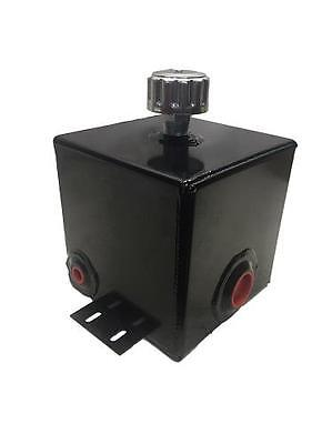 Hydraulic Log Splitter Tank Oil Reservoir 2.8 gallon Steel Bottom Mount Breather