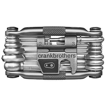 Crank Brothers M19 Bicycle Multi-Tool and Flask - Gray