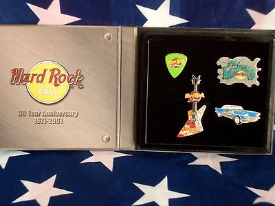 HRC Hard Rock Cafe Ft Lauderdale 30th Anniversary CD Set 4 Pins LE500