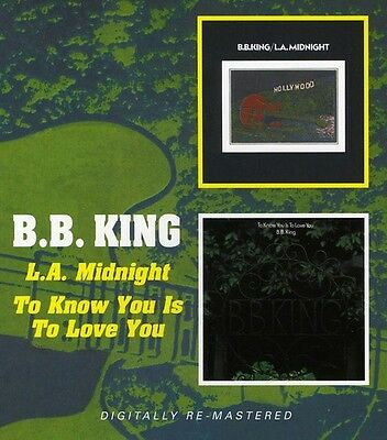 B.B. King - To Know You Is to Love You / L.A. Midnight [New CD] UK - Import