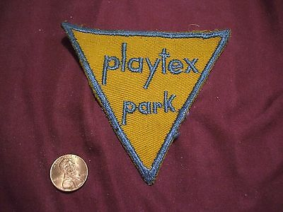 1960's PLAYTEX PARK SECURITY Patch - NEWARK DELAWARE