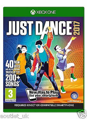 Just Dance 2017 for Xbox One DANCE GAME BRAND NEW & SEALED