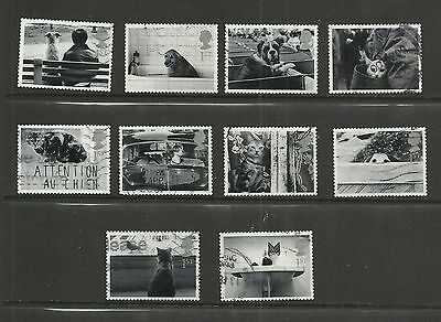 GB 2001  Cats & Dogs   fine used set