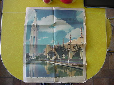 1939 Golden Gate International Expo/GGIE San Francisco Examiner Special Section
