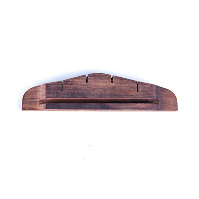 Ukulele Bridge for Uke Ukelele Hawaii Guitar Parts Replacement Slotted