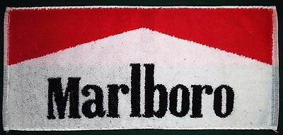 Marlboro Cigarettes Vintage Bar Towel Pub Beer Cloth Mancave