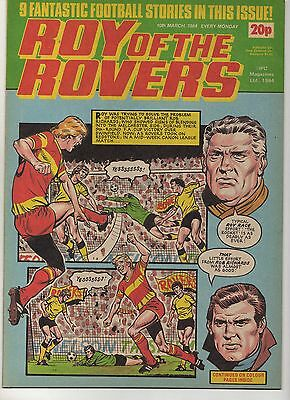 ROY OF THE ROVERS 10th MARCH 1984 EXCELLENT CONDITION